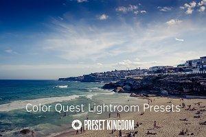 Color Quest Lightroom Presets