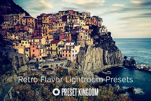 Retro Flavor Lightroom Presets