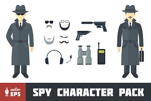 Spy Character Pack