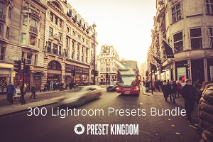 300 Lightroom Presets Bundle