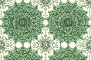 Modern geometric seamless pattern