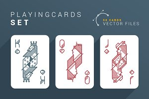 Playing Cards Set *50