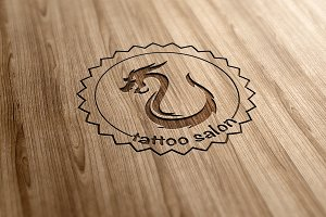 Tatoo Salon Logo Design