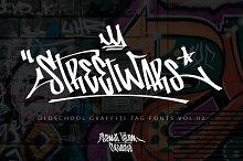 Street Wars - OldSchool Graffiti Tag