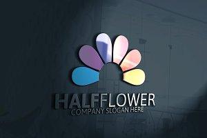 Half Flower Logo