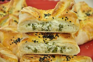 pastry filled cheese