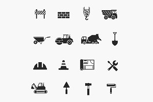 16 Construction Icons