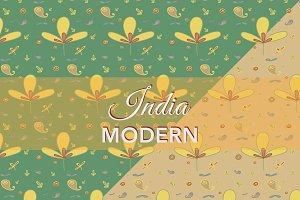 India Modern Pattern - Set of 2