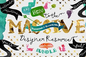 Massive Designer Resource Bundle