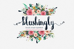 Blushingly Typeface