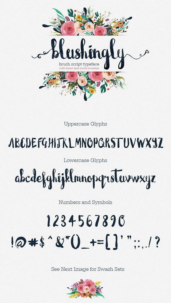 Blushingly Typeface