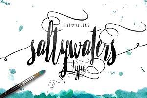 Saltywaters Type Script -20% OFF
