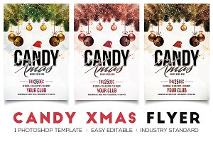 Candy Xmas - Christmas Flyer