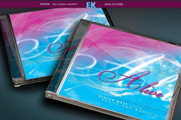 Alive: CD Cover Artwork