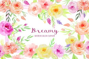 Watercolor Dreamy Collection