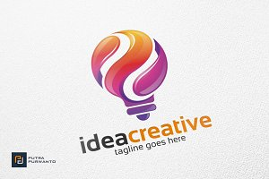 Idea Creative / Bulb - Logo