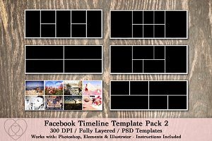 Facebook Timeline Template Pack