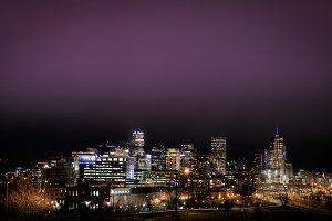 Denver skyline Cityscape Blank Space