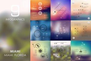 9 Miami infographics