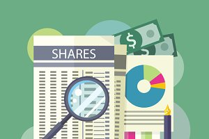 Tables, Reports, Charts of Share