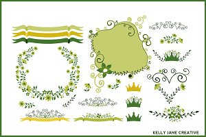 St. Patrick's Day Florals