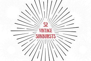 52 Vintage Sunburst