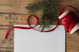 Blank Holiday Stationary
