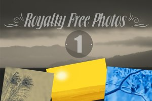 Royalty Free Photos -1 (17 Elements)