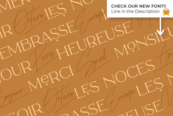 Mikela - 50% OFF Gorgeous Typefaces in Serif Fonts - product preview 46