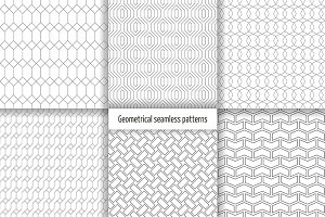 Geometrical seamless patterns