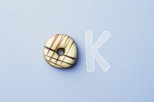 OK Donut doodle