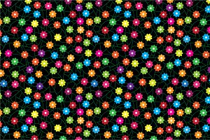 "Seamless pattern ""Summer!"""
