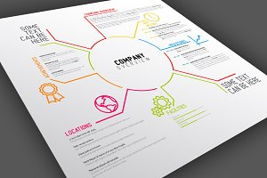 Company Overview Template Design
