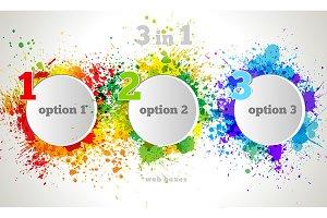 Vector Graphic Design Button