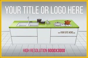 Kitchen Sketch Interior Concept