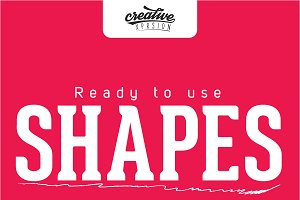 Shapes | Ready to use