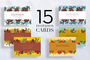 15 Invitation Cards