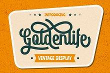 Goldenlife - Vintage Display