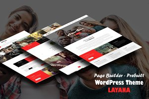 Layana - One Page WordPress Theme