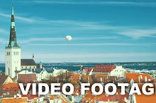 Panoramic View Of Old Tallinn