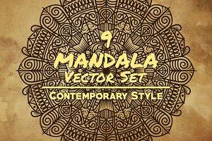 Mandala Art (Contemporary Style)