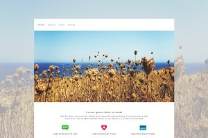 Meimei - One Page HTML Template