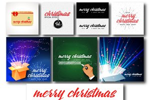 Christmas Badges & Labels