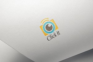 Click It Logo Template