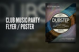 Club Music Party Flyer / Poster