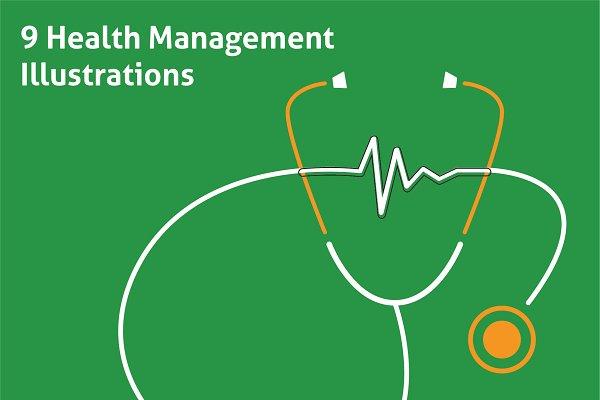 Health Management Illustrations