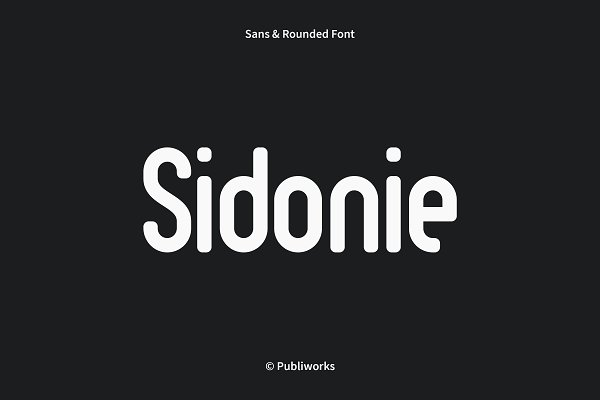 Sidonie - Sans & Rounded Font