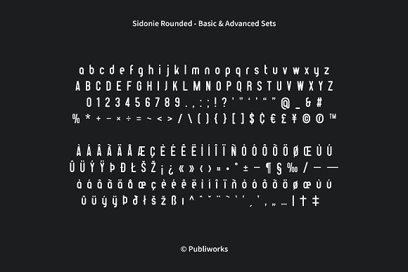 Sidonie - Sans & Rounded Font in Sans-Serif Fonts - product preview 6