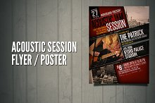 Acoustic Sesion Flyer / Poster