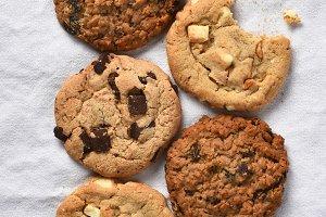 Five Cookies